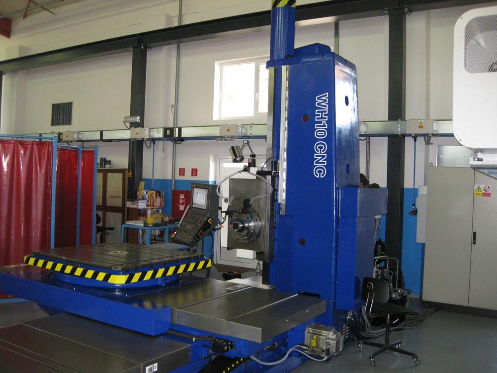 WH 10 CNC - po GO u zákazníka