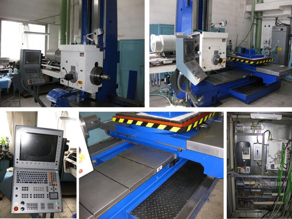 WH 10 CNC - montáž