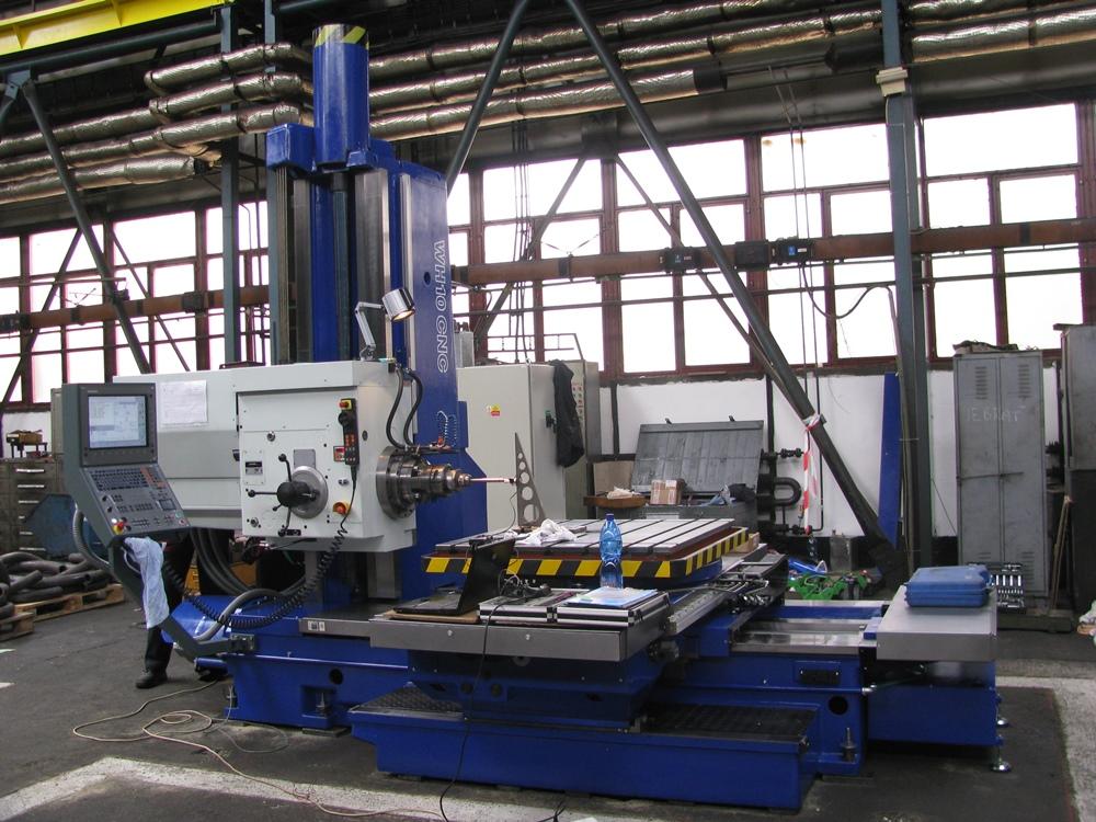 WH 10 CNC - měření Ballbarem